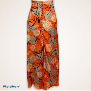 BNWOT FREE PEOPLE Sammy Buttondown maxi skirt
